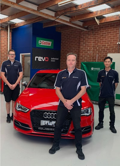 Audi 40+ Years Experience
